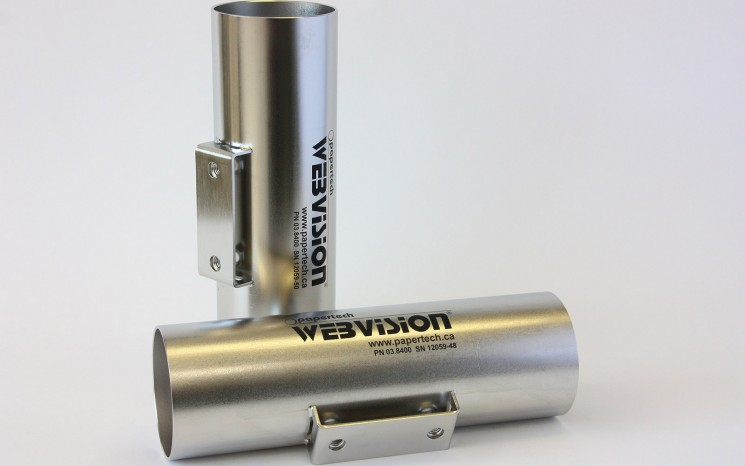 Laser engraved stainless steel housing