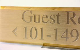 Rotary Engraved Signs